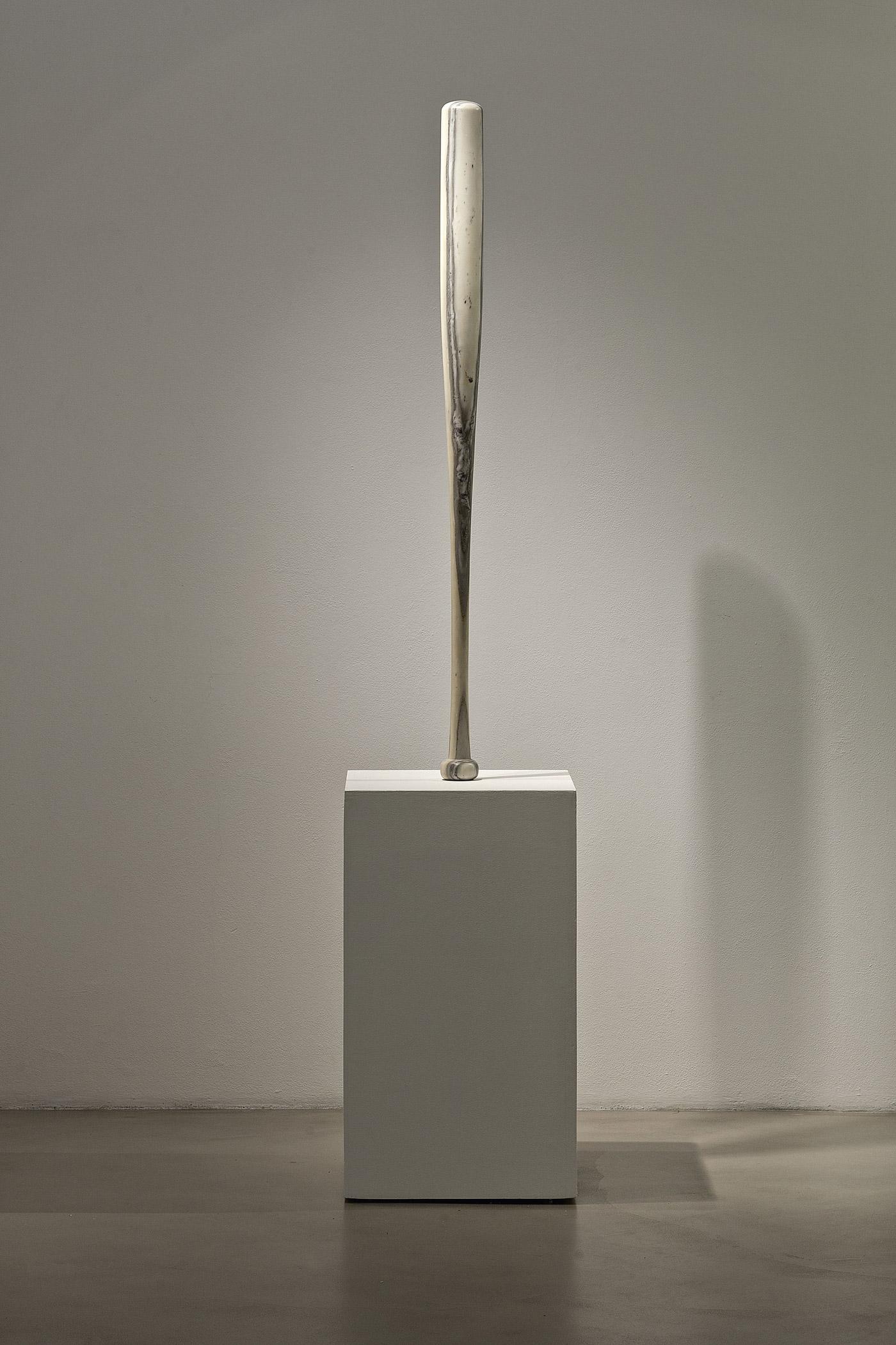 baseball bat mazza fabio viale marmo marble sculpture scultura art