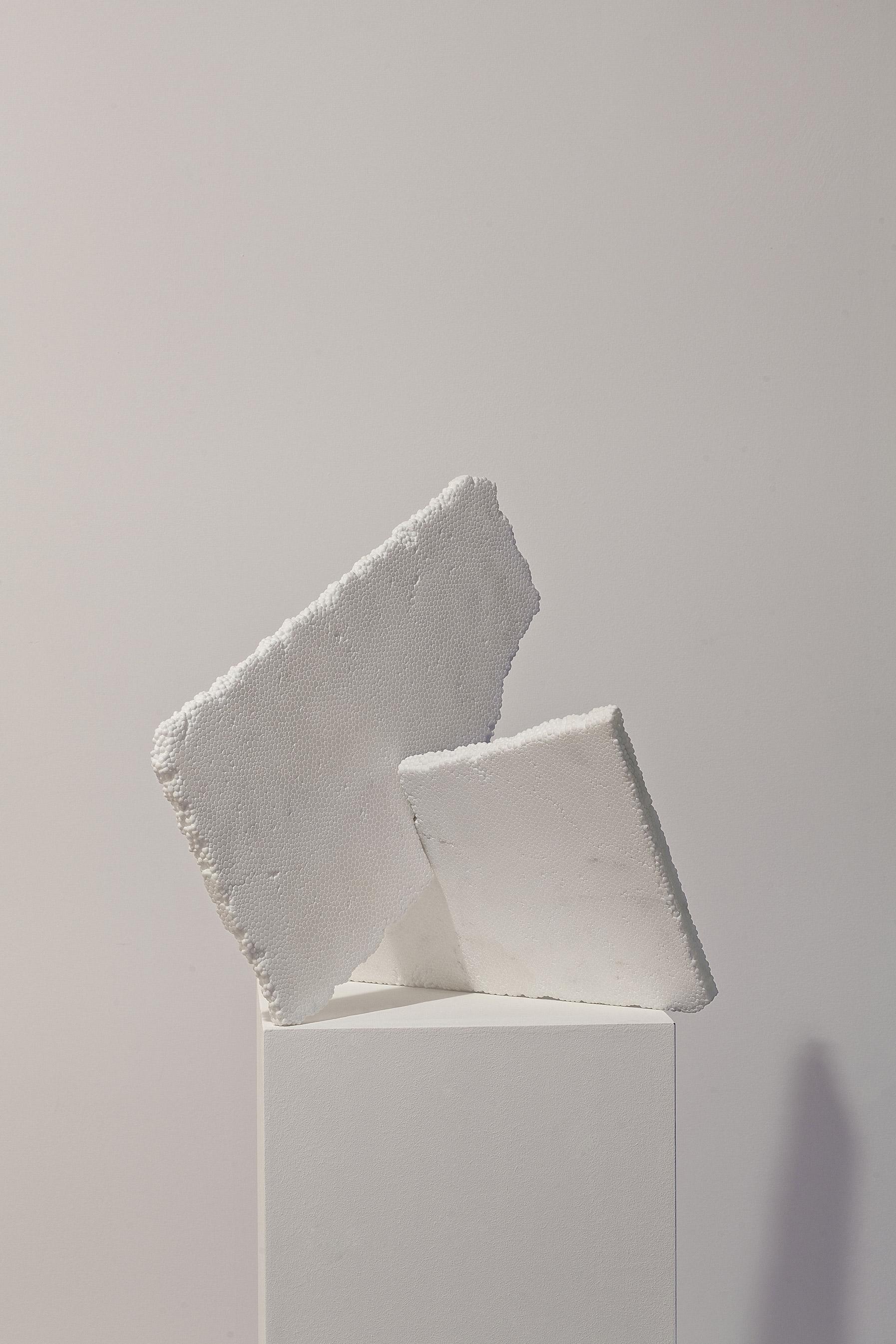 styrofoam fabio viale marmo marble sculpture scultura art poggiali forconi