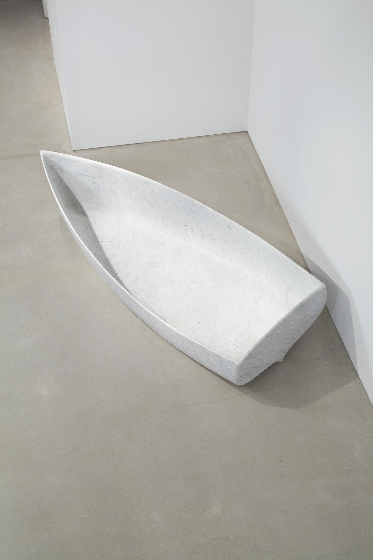 ahgalla fabio viale marmo marble sperone westwater sculpture boat