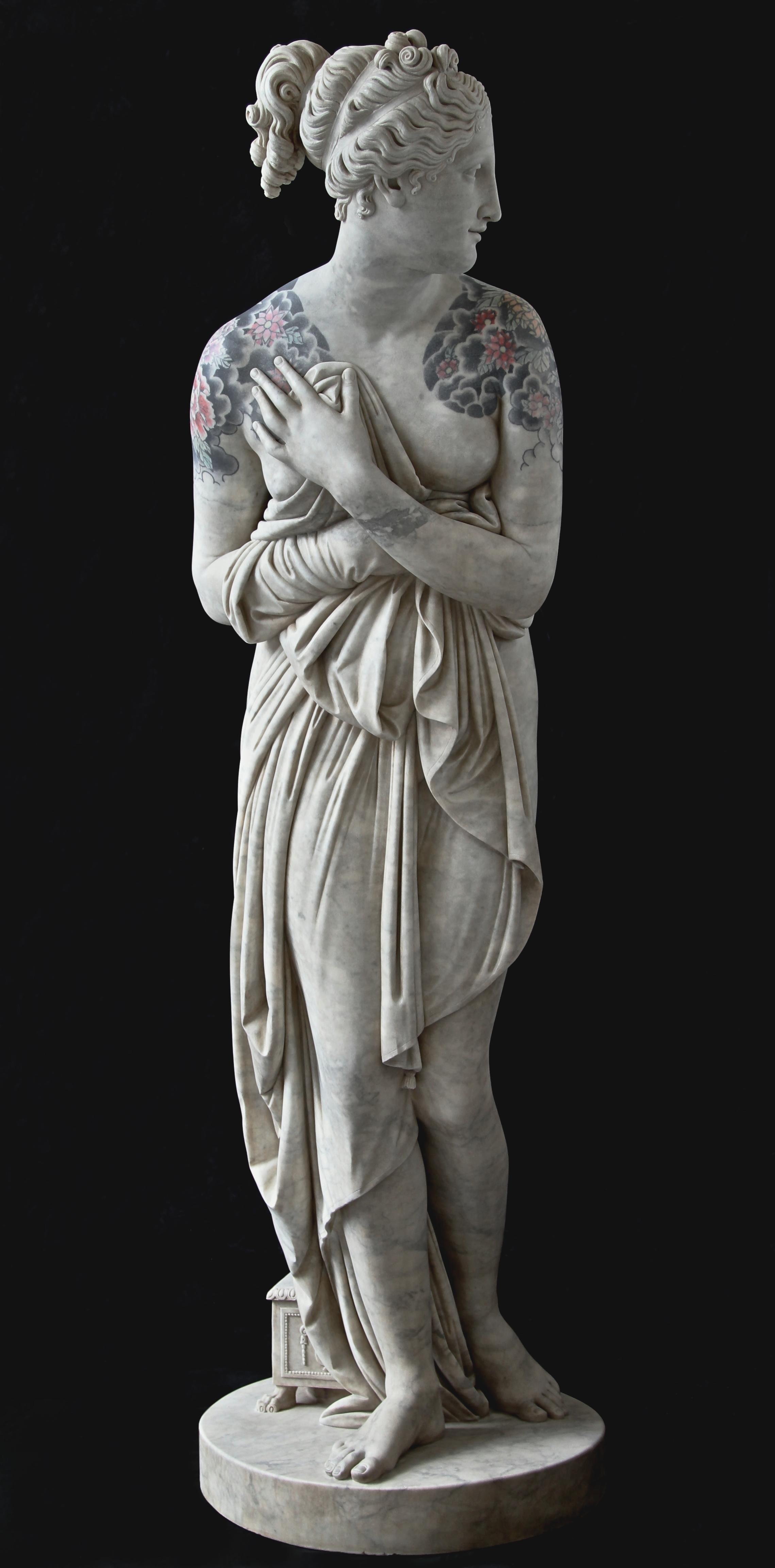 venere italica venus fabio viale statue marble marmo scultura art modern